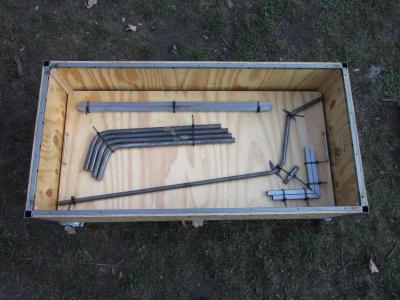 grill selbst gebaut einkaufswagen m. Black Bedroom Furniture Sets. Home Design Ideas